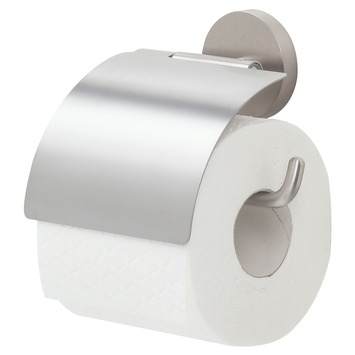 Handson Toiletrolhouder Smart met klep Inox