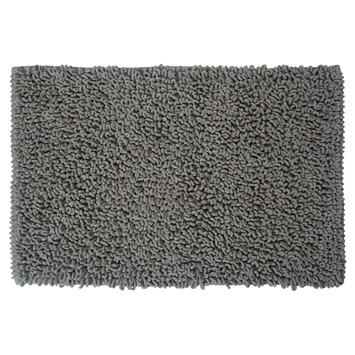 Sealskin Twist badmat grijs 60x90 cm