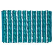 Tapis de bain Bright Sealskin 50x80 cm turquoise
