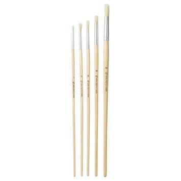 GAMMA penselenset 1-3-6-10-14 mm 5 stuks