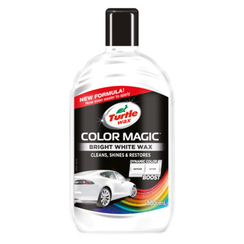 Turtle Wax Color Magic blanc 500ml