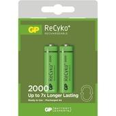GP herlaadbare NiMH AA-batterij 2000 mAh 4 stuks