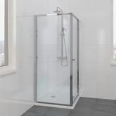 Bruynzeel Solid II zijwand 90x200 cm