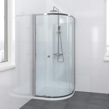 Cabine de douche quart-de-rond Solid II Bruynzeel 90x90x200 cm