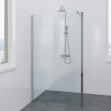 Paroi de douche à l'italienne Solid II Bruynzeel 90+30x200 cm