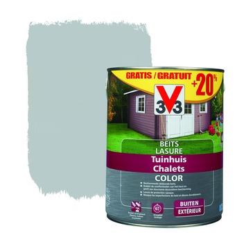 V33 beits tuinhuis color zijdeglans pure everest 2,5 L + 20% extra