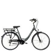 Vélo électrique 6 vitesses Advanced D49 Rössler moteur roue avant gris