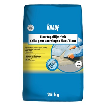 Colle pour carrelages Flex Knauf 25 kg blanc