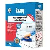 Knauf flex voegmortel antraciet 2 kg