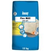 Knauf tegellijm flex max grijs 15 kg
