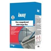 Ciment flex joint large Knauf 5 kg gris