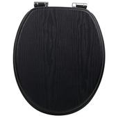 Handson Antero wc bril met softclose zwart wash