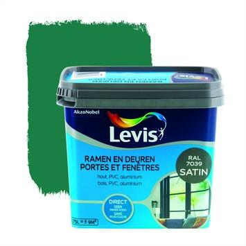 Levis opfrisverf ramen en deuren zijdeglans quartz grijs 750 ml