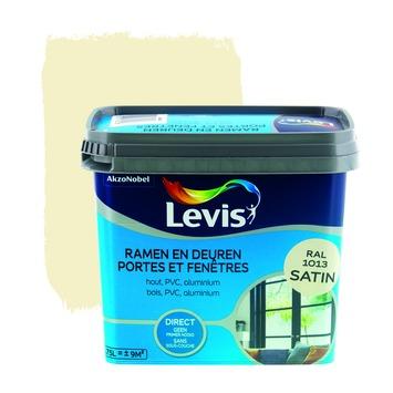 Levis opfrisverf ramen en deuren zijdeglans oyster 750 ml