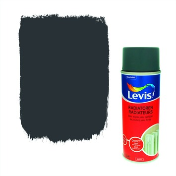 Levis opfrisverf radiator zijdeglans pepper 400 ml