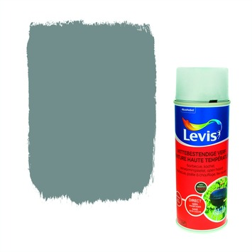 Levis opfrisverf hittebestendige verf zijdeglans metaal 400 ml