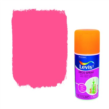 Levis opfrisverf decospray fluo orange 150 ml