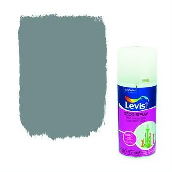 Levis opfrisverf decospray glitter silver 150 ml