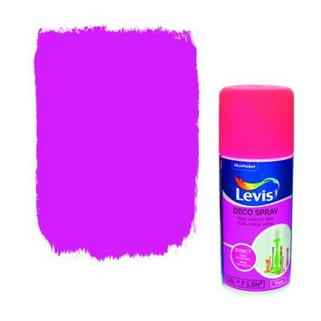 Levis opfrisverf decospray fluo pink 150 ml