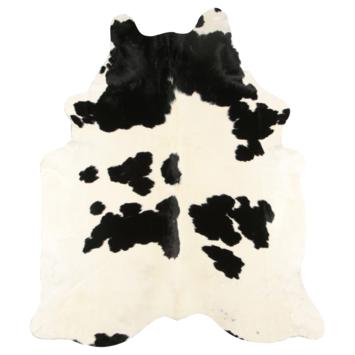 Peau de vache noir/blanc 180x200 cm