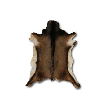 Peau de chêvre brun mêlé 70x50 cm