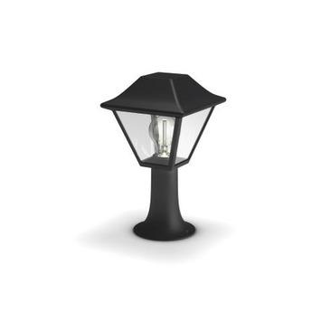 Éclairage sur socle Alpenglow Philips E27 ampoule non fournie max. 60 W noir