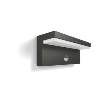 Applique Bustan Philips LED intégrée 2x4,5 W gris