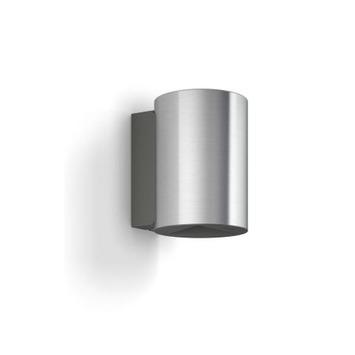 Philips wandlamp Buxus met geïntegreerde led 2x4,5 W inox
