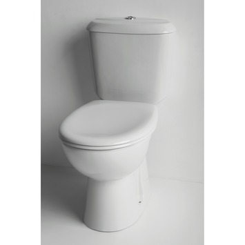 Pack WC Astor Ideal Standard 3/6 L sortie sol S blanc