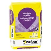 Colle flexible pour carrelage Weber 20 kg
