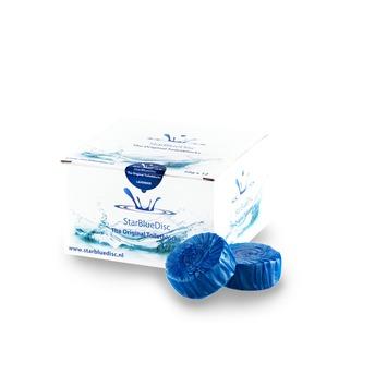 Starbluedisc toiletblokje voor rimless WC verpakking halfjaar blauw