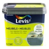 Levis opfrisverf meubels hoogglans wit 750 ml