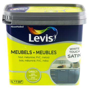 Un coup de neuf Levis meubles satin blanc 750 ml
