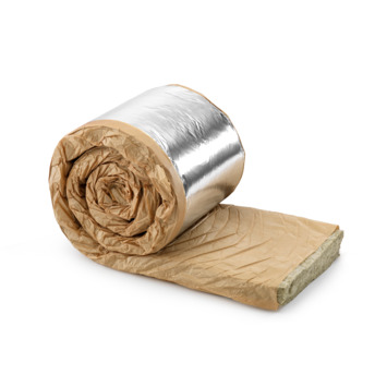 Rockwool Rockroof sidefix plus 113 spijkerflensdeken steenwol 8x60x600 cm 3,6 m² R=2