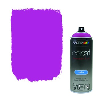 Motip Carat satin traffic purple