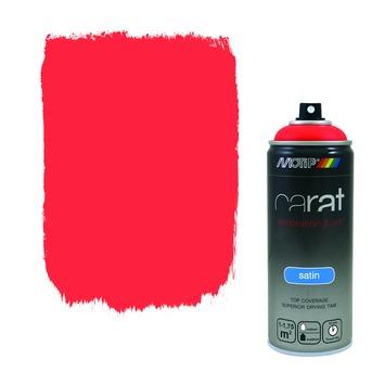 Motip Carat satin traffic red