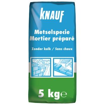 Mortier préparé Knauf sans chaux 5 kg