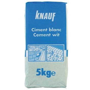Knauf cement 5 kg wit