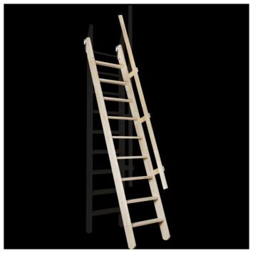 Escalier de meunier Pivot MSP 55x300 cm naturel