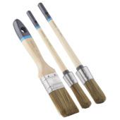 Kit de pinceaux GAMMA laque à base aqueuse 10-14-40 mm 3 pièces