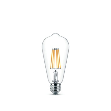 Ampoule LED ST64 classic Philips E27 7 W = 60 W dimmable blanc chaud clair