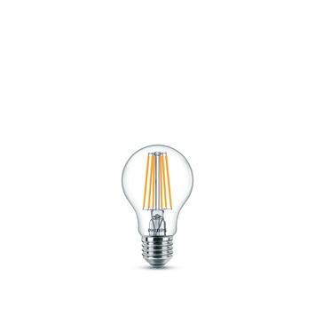 Ampoule poire LED classic Philips E27 8 W = 75 W blanc chaud clair