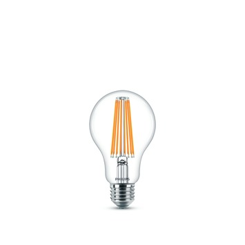 Ampoule poire LED classic Philips E27 11 W = 100 W blanc chaud clair