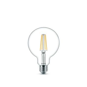 Ampoule globe LED classic Philips E27 6 W = 60 W blanc chaud