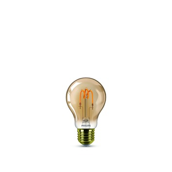 Ampoule poire LED classic Philips E27 2 W = 14 W gold