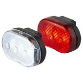 Set d'éclairage pour vélo LED classic OK