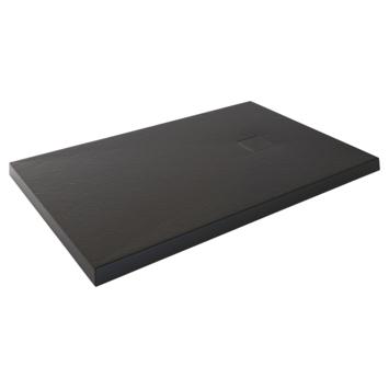 Aurlane Stone douchebak 120x80 cm zwart