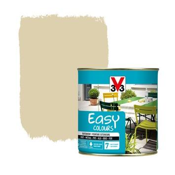 Peinture pour l'extérieur V33 Easy Colours  sable satin 500 ml