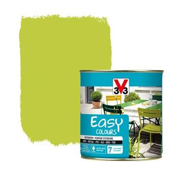 V33 Easy Colours buitenverf zijdeglans absint 0,5 L