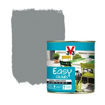 V33 Easy Colours buitenverf poeder steengrijs 0,5 L